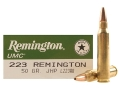 Product detail of Remington UMC Ammunition 223 Remington 50 Grain Jacketed Hollow Point