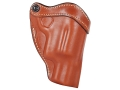 "Product detail of Hunter 1165 Belt Holster Right Hand Taurus Judge Public Defender 2"" Barrel Leather Chestnut Tan"