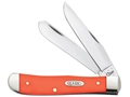 Product detail of Case Trapper Folding Knife Stainless Steel Clip and Spey Blades