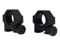 "Product detail of Barska 30mm Heavy Duty Tactical Weaver-Style Rings with 1"" Inserts Matte Low"