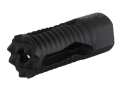 "Product detail of Troy Industries Medieval Muzzle Brake 5.56mm AR-15 1/2""-28 Thread Matte"