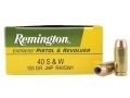 Product detail of Remington Express Ammunition 40 S&W 155 Grain Jacketed Hollow Point Box of 50
