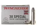 Product detail of Winchester Super-X Ammunition 38 Special 158 Grain Lead Round Nose