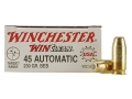 Product detail of Winchester USA WinClean Ammunition 45 ACP 230 Grain Brass Enclosed Base