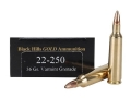 Thumbnail Image: Product detail of Black Hills Gold Ammunition 22-250 Remington 36 G...