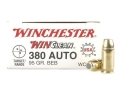 Product detail of Winchester USA WinClean Ammunition 380 ACP 95 Grain Brass Enclosed Base
