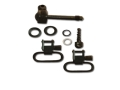 "Product detail of GrovTec Sling Swivel Studs with 1"" Locking Swivels Set Remington 7400 Steel Black"
