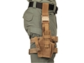 Product detail of BlackHawk Omega 6 Elite Drop Leg Holster Glock 17, 19, 22, 23, 27, Si...