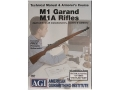 "Product detail of American Gunsmithing Institute (AGI) Technical Manual & Armorer's Course Video ""M1 Garand, M1A Rifles"" DVD"