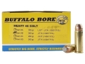Product detail of Buffalo Bore Ammunition 45 Colt (Long Colt) +P 300 Grain Jacketed Flat Nose