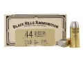 Product detail of Black Hills Cowboy Action Ammunition 44 Russian 210 Grain Lead Flat P...
