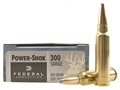 Product detail of Federal Power-Shok Ammunition 300 Savage 180 Grain Soft Point Box of 20