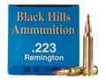 Product detail of Black Hills Remanufactured Ammunition 223 Remington 60 Grain Hornady ...