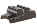 "Product detail of Williams WGOS-Octagon-CVA Open Sight Less Blade Fits Octagon Barrels 15/16"" and 1"" with Dovetail Cut Aluminum Black"