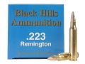 Product detail of Black Hills Remanufactured Ammunition 223 Remington 55 Grain Full Metal Jacket Box of 50