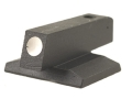 "Product detail of Novak Front Sight 1911 Novak Cut .075"" Depth .160"" Height .125"" Width Steel Blue White Dot"