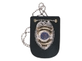 Thumbnail Image: Product detail of Gould & Goodrich B567 Badge Holder Leather Black