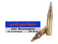 Product detail of Prvi Partizan Ammunition 223 Remington 55 Grain Soft Point