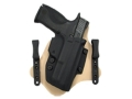 Product detail of Comp-Tac Minotaur Spartan Inside the Waistband Holster Right Hand Glock 26, 27, 28, 33 Kydex and Leather