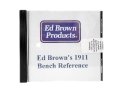 "Product detail of ""Ed Brown's 1911 Bench Reference"" CD-ROM by Ed Brown"