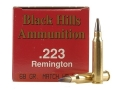 Product detail of Black Hills Ammunition 223 Remington 68 Grain Match Hollow Point Moly Box of 50