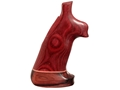 Thumbnail Image: Product detail of Hogue Fancy Hardwood Conversion Grips with Accent...