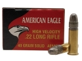 Product detail of Federal American Eagle Ammunition 22 Long Rifle High Velocity 40 Grai...