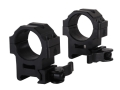 Product detail of Leapers UTG 30mm Max Strength Tactical 4-Hole Quick Detachable Picatinny-Style Rings Matte Medium