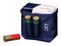 Product detail of Bob Allen Single Box Shotshell Ammunition Carrier Nylon Navy