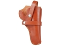 "Product detail of Hunter Hip Belt Holster Right Hand Taurus Judge 2.5"" Chamber 3"" Barrel Leather Brown"