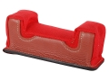 Product detail of Edgewood Front Shooting Rest Bag Common Varmint Width with Extra Reinforcment Leather and Nylon Red Unfilled