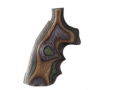 Product detail of Hogue Fancy Hardwood Grips with Finger Grooves Ruger Security Six