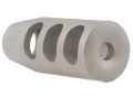 "Product detail of Holland's Quick Discharge Muzzle Brake 5/8""-28 Thread .650""-.750"" Barrel Tapered Stainless Steel"