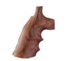 Thumbnail Image: Product detail of Hogue Fancy Hardwood Grips with Finger Grooves Da...
