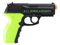 Product detail of Crosman Z11 Zombie Eliminator Airsoft Pistol 6mm CO2 Full-Automatic Polymer Black and Green