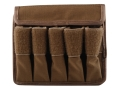 Product detail of Tuff Products 5-In-Line Magazine Pouch 9mm, Glock 17 Nylon Coyote Brown