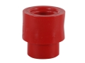 Product detail of Knight Full Plastic Jacket #209 Primer Jacket Polymer Red Pack of 100