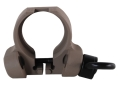Product detail of Troy Industries Professional Grade Rear Sling Mount Adapter 2 Position Ambidextrous with Quick Detach Sling Swivel AR-15 Carbine Aluminum Flat Dark Earth