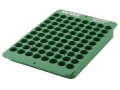 Product detail of RCBS Universal Reloading Tray 40-Round Plastic Green