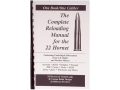 "Product detail of Loadbooks USA ""22 Hornet"" Reloading Manual"
