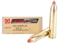 Product detail of Hornady LEVERevolution Ammunition 450 Marlin 325 Grain Flex Tip eXpanding Box of 20