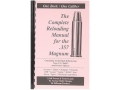 "Product detail of Loadbooks USA ""357 Magnum Handgun and Rifle"" Reloading Manual"