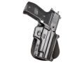 Product detail of Fobus Paddle Holster Right Hand Sig Sauer SP2009, SP2340 Polymer Black
