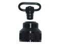 "Product detail of GrovTec Push Button Magazine Cap with 1"" Quick Detach Sling Swivel Mossberg 590, 835, 930, 935 12 Gauge Steel Black"