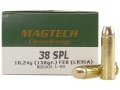 Product detail of Magtech Clean Range Ammunition 38 Special 158 Grain Encapsulated Flat Nose