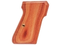 Product detail of Hogue Fancy Hardwood Grips Walther PP, PPK/S Checkered Tulipwood