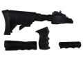 Product detail of Advanced Technology Strikeforce 6-Position Collapsible Stock and Handguard Set with Scorpion Recoil System & Pistol Grip AK-47, AK-74 Stamped Receivers Polymer Black