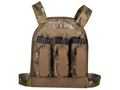 Product detail of US Palm AK Defender Series Soft Body Armor Level IIIA Front and Back Panels 500d Cordura Nylon