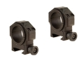 "Product detail of Leatherwood Hi-Lux 30mm Max-Tac Tactical Picatinny-Style Rings with 1"" Inserts Medium Matte"