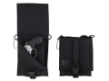 "Product detail of Wilderness Tactical Safepacker Belt Holster Right Hand 6-5/8"" x 8"" Nylon Black"